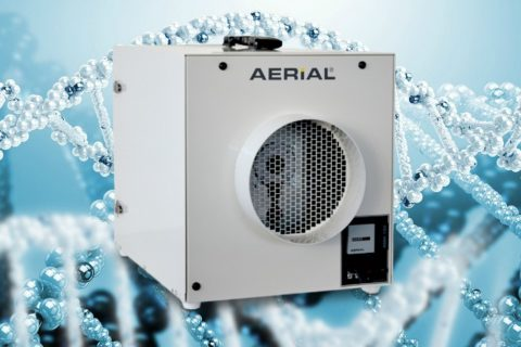 AHM Air purifier for building and industry