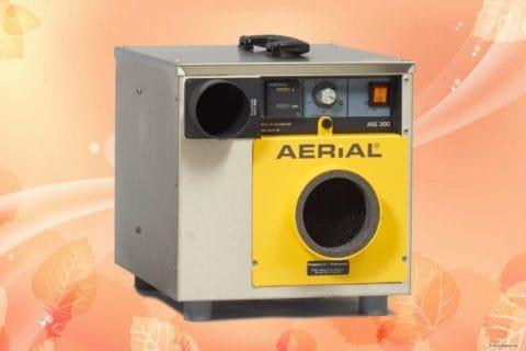 ASE300 aerial desiccant dehumidifier