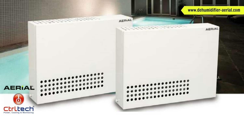 AP dehumidifier for indoor pool room for pool dehumidification.