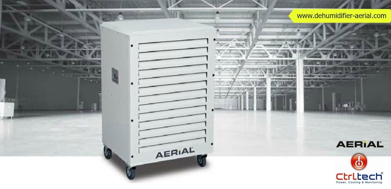 Large dehumidifier capacity by ctrltech Dubai UAE
