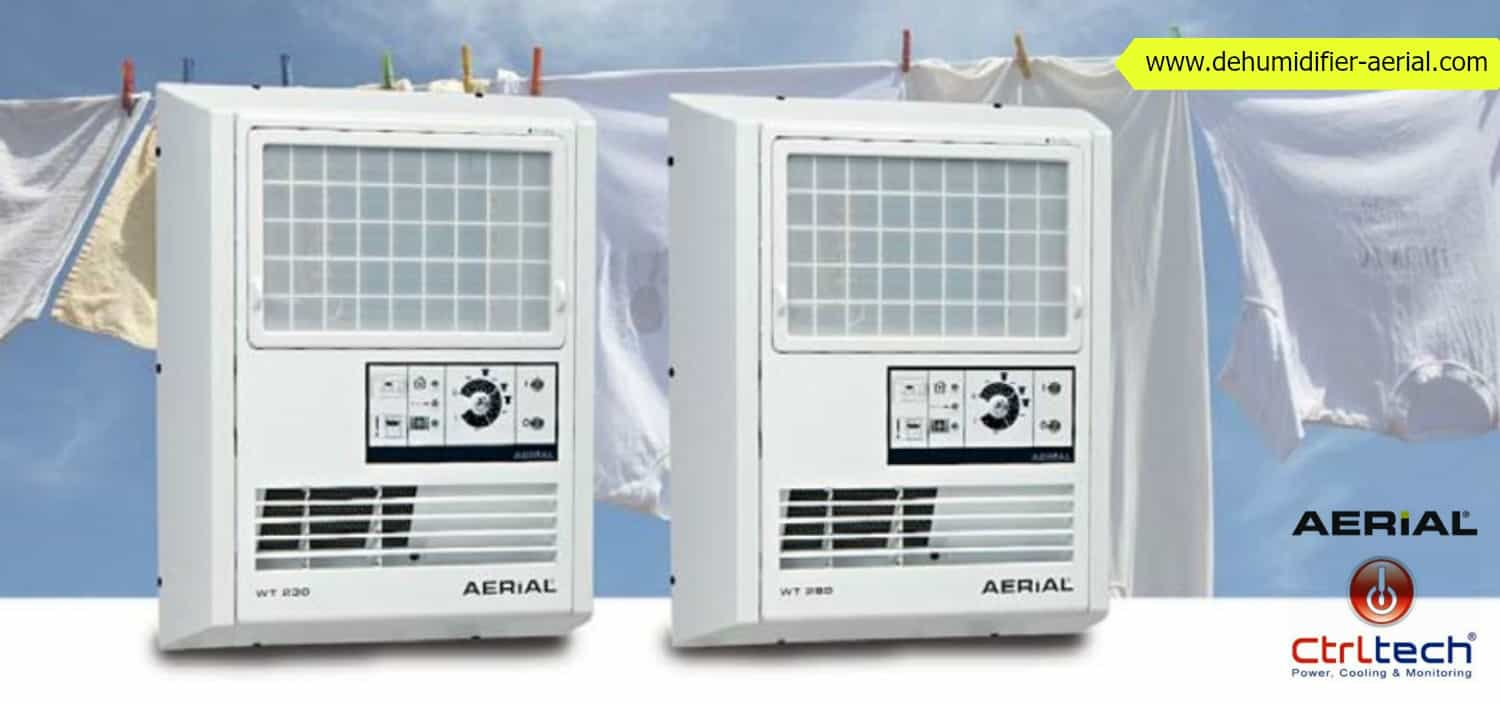 Room air laundry dehumidifier dryer.
